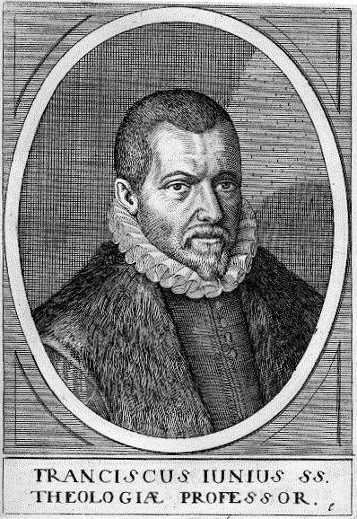 Franciscus Junius (ets van Jean-Jacques Boissard)