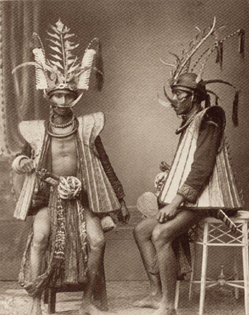 Krijgers van Nias, 1931