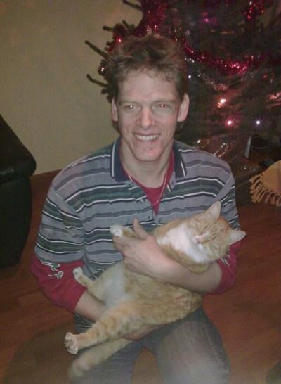 Harold en kat Coby